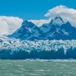 Blue ice of Perito Moreno Glacier, Argentina — Stock Photo #34361465