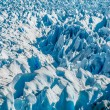 Blue ice of Perito Moreno Glacier, Argentina — Stock Photo #34361523