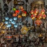 Turkish lanterns at Grand Bazaar, Istanbul — Stock Photo #34361545