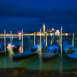 Gondolas at Grand Canal, Venice, Italy — Stock Photo #34361629