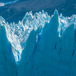 Blue ice of Perito Moreno Glacier, Argentina — Stock Photo #34361701