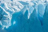 Perito moreno buzulu, arjantin in blue ice — Stok fotoğraf