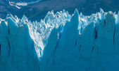 Blue ice of Perito Moreno Glacier, Argentina — Stock Photo