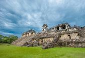руины из паленке — Стоковое фото