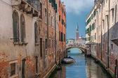 Venedik kanallar — Stok fotoğraf