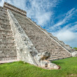 Stock Photo: Temple of Kukulkpyramid