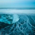 jokulsarlon Buzulu lagoon — Stok fotoğraf
