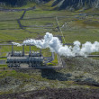 Stock Photo: Nesjavellir geothermal power station