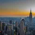 Panorama of Manhattan — Stock Photo