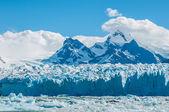 Blue ice of Perito Moreno Glacier — Stock Photo