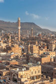 Panorama of Sanaa — Stock Photo