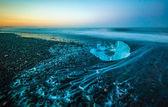 Laguna del ghiacciaio di jokulsarlon — Foto Stock