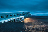 Dakota plane wreckage — Stock Photo