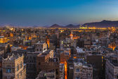 Panorama of Sanaa — Foto de Stock