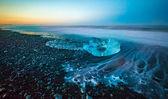Glaciärlagunen glaciären lagunen — Stockfoto