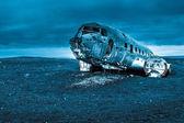 Dakota uçak enkazı — Stok fotoğraf