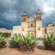 Church of Santo Domingo de Guzman in Oaxaca, Mexico — Stock Photo