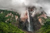 Angel Falls, the world's highest waterfall, Venezuela — Stock Photo