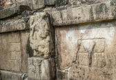 Bas-reliefs at Ruins of Palenque, Mexico — Stock Photo