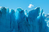 Blue ice of Perito Moreno Glacier — Stock Photo