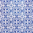 Azulejos, traditional Portuguese tiles — Stock Photo #45024855