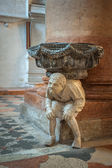 Interior of Santa Anastasia Church, Verona, Italy — ストック写真