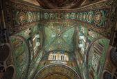 Mosaics of Basilica of San Vitale, Ravenna, Italy — Stock Photo