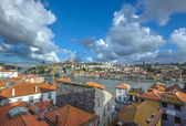 Panorama of Porto and Vila Nova de Gaia, Portugal — Stock Photo