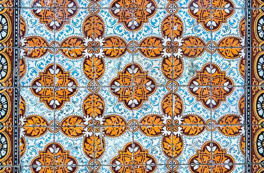 Insieme di vettore delle piastrelle portoghesi raccolta