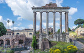 Ancient Roman forums in Rome — Stock Photo