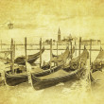Gondolas at Grand Canal, Venice — Stock Photo #49337713