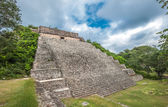 The great pyramid in Uxmal — Stock Photo