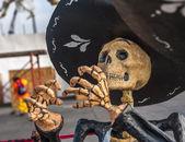 Dead mariachi, Dia de los muertos — Stock Photo