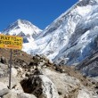 Stock Photo: Way to Everest Base Camp