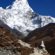 ama dablam nepal — Stock Photo