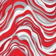 Vector seamless texture with  waves - Stock Vector