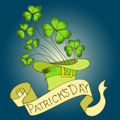 St. Patrick's Day background. — Stock Vector