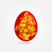 Easter eggs design template — Stock Vector