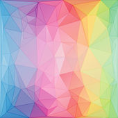Triangular style abstract background of triangles — Stock Vector
