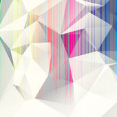 Multicolored abstract background of triangles — Stock Vector