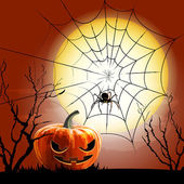 Spiderweb vector background — Stock Vector