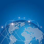 全球技术网网络矢量 — 图库矢量图片