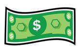 Money Items — Stock Vector