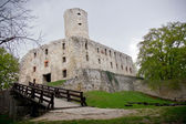 Old castle ruins - Lipowiec, Babice - Poland — Stock Photo