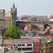 View of central Newcastle from Gateshead - Stock Photo