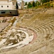Roman Theatre in Malaga, Spain - Stock Photo