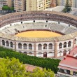 Plaza de Toros de Ronda bullring in Malaga, Spain - Stock Photo