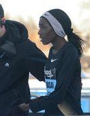 Linet Masai, Kenyan distance runner — Stock Photo
