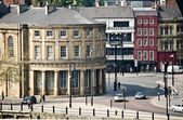 Urban architectural in central Newcastle, England — Stock Photo