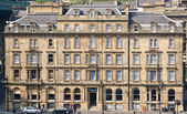 Neoclassical architecture in the centre of Newcastle, England — Stock Photo